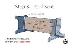 How to build a Church Pew Free DIY Plans Rogue Engineer