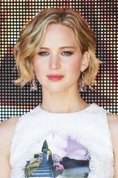 We loved Jennifer Lawrence's pixie, but the baby bob she's grown it into takes the cake. We're hoping she sticks with this length.