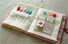 Lindo agulheiro de patchwork – Passo a passo - Arteblog 2012