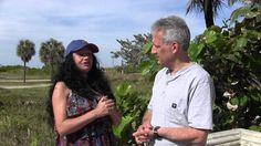 Ana Gimenez con El Noticiero Alvarez-Galloso en Miami Beach