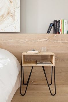 Adolfo Abejon Handy Side Table- Stirling Board modern-nightstands-and-bedside-tables