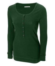 Loving this Hunter Halftime Henley - Women & Plus on #zulily! #zulilyfinds.   Missed out on this the last time they featured this but I scored it yesterday ! Thanks Zulily!