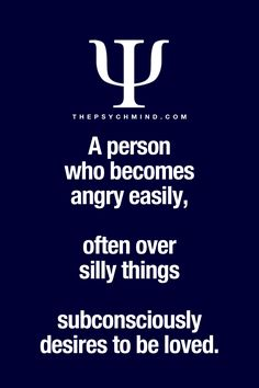 It sounds like a nice way to explain why Do people get upset so easily
