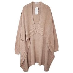 Soft High Low Cardigan (1.200.375 IDR) ❤ liked on Polyvore featuring tops, cardigans, outerwear, jackets, sweaters, cream, brown cardigan, cream cardigan, cream top and brown tops