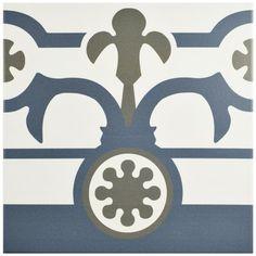 Hidraulico Ducados Cenefa Porcelain Floor/Wall Tile