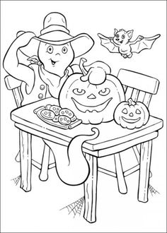 halloween coloring pages picture 23