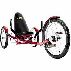 Mobo Triton Pro Ultimate 3-wheeled Red Cruiser | Overstock.com Shopping - Great Deals on Triton Bicycles