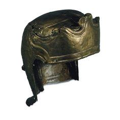 Cavalry helmet    Roman Britain, 3rd century AD  From Guisborough, Cleveland