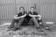 Brett & Bryan Kavanagh Senior Pictures  Class of 2015   Senior Boys  Twins