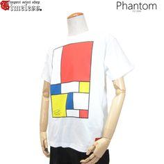 PHANTOM ( ファントム )/ Tシャツ - GEOMETRIC S/S TEE ( WHITE )