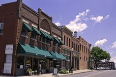 downtown Independence, Missouri