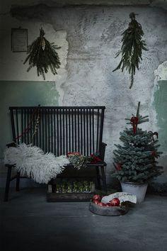 Modern minimal swedish christmas decor - Artilleriet's Take on a Christmas Decor - NordicDesign