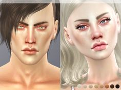 PS Noe Skin by Pralinesims at TSR via Sims 4 Updates
