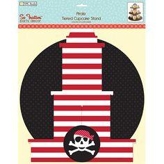 Pirate cupcake stand!
