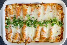 Creamy Chicken Enchiladas - use standard tortillas or not El Ray (they fell apart)