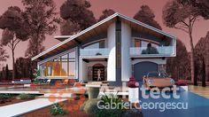 Slide 5 Modern Bungalow House, Home Fashion, My Dream Home, My House, Villa, Room Decor, House Styles, Outdoor Decor, House Ideas