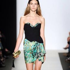 BbcbgMaxazria Runway Dress Gorgeous stunning piece!!! Originally $398. From the runway line- very exclusive! BCBGMaxAzria Dresses