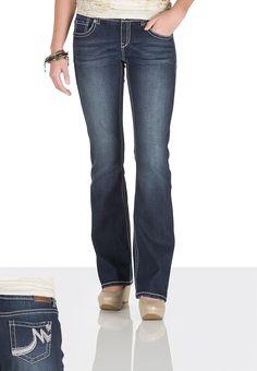 Kaylee Dark Wash Bootcut Jeans