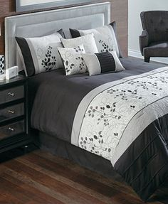 Penelope 7 Piece Embroidered Comforter Sets