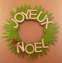 Activité de Noël : une jolie couronne