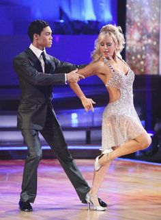 Chelsie Hightower & Roshon Fegan  -   Dancing With the Stars  -  season 14  -  spring 2012  -  dancing the Argentine tango