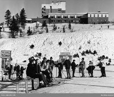Högfjällshotellet Sälen. Fotograf: Erik Liljeroth, ca 1950-1960