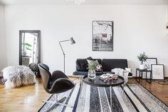 Duplex design en noir et blanc