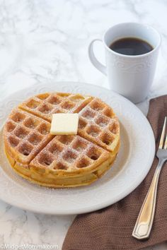 This Belgian Waffle recipe makes a waffle that is crisp on the outside but fluffy on the inside. They are great to make ahead and store them in the freezer. Waffle Recipe Pioneer Woman, Best Belgian Waffle Recipe, Belgian Waffle Mix, Best Waffle Recipe, Belgian Waffles, Waffle Mix Recipes, Waffles