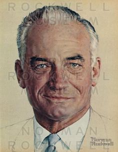 barry goldwater by norman rockwell