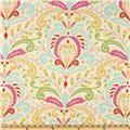Kumari Garden Teja Pink/Multi - Discount Designer Fabric - Fabric.com