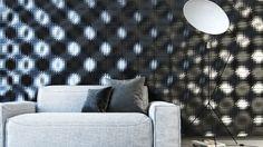 3D concrete wall tile: geometric pattern - CRISP by Levi Fignar - kaza concrete