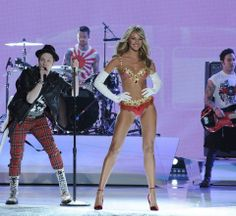Candice Royal Bra & Fall Out Boy @ VS Fashion Show 2013