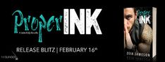 Wonderful World of Books: Release Blitz - Proper Ink by Zeia Jameson + Givea...