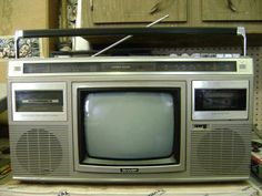 The portable TV Stereo