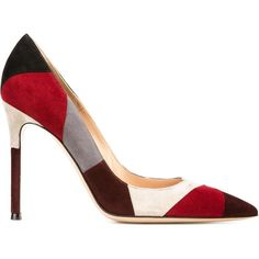 Gianvito Rossi Gianvito Pumps (270 BHD) ❤ liked on Polyvore featuring shoes, pumps, red, stiletto pumps, red pointed-toe pumps, colorful pumps, suede shoes and suede pointed-toe pumps