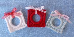 Whiskers & Wool: Christmas Present Ring Ornament + link to Rivalry for free download (must be a member)