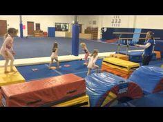 Pre school Vault Class in Action 1 - YouTube