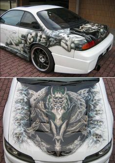 Airbrushed car10 by Tomohiro
