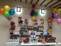 Paw patrol candy bar knela catering service