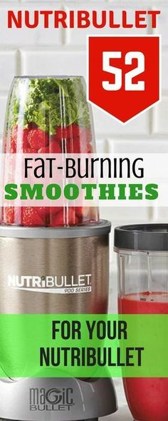 Drink these every morning & watch pounds come off. 50 plus fat burning mega smoothies you can make in your nutribullet blender. #nutribullet #nutribulletrecipes