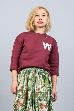 Wood Wood Hope Bordeaux Sweater