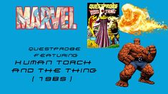Questprobe featuring Human Torch and The Thing (1985) Gameplay   HD   Re...
