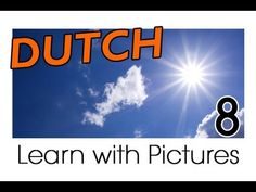 Learn Dutch Vocabulary with Pictures - Weather Forecast Says... - YouTube