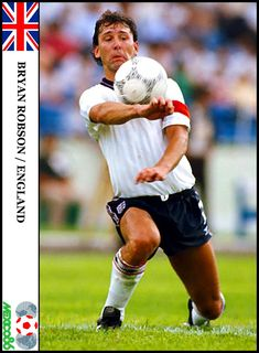 Mexico 86, Bryan Robson, Chelsea, England, Passion, Football, Baseball Cards, Sport, Soccer