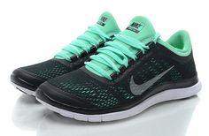 Nike Free 3.0 V5 Womens Black Mint Green Nike Leggings 1366290bef