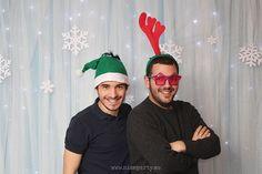 Nice Party fiesta Frozen. Photocall frozen navidad