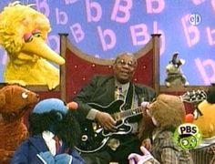 BBKing on Sesame Street