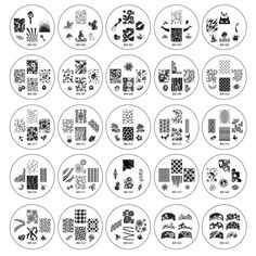 2012 Collection FULL SET - 25pc Nail Stamping Plates  http://www.bundlemonster.com/nails/nail-stamping/25pc-nail-art-stamping-image-plates-2012-collection.html