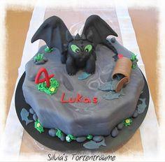 Dragons Drachenzahmen Leicht Gemacht Dragoncake Cakes Cakeart