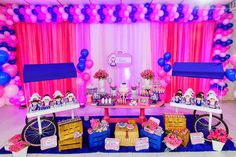 Aniversário Infantil - 1 ano - Lara Holandesa - Inspiração / Children's Birthday - 1 year - Lara Dutch - Inspiration